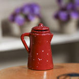 Miniature Red Pitcher