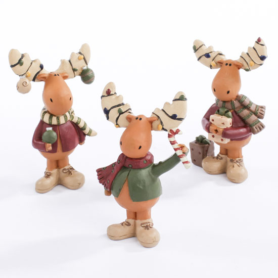 Miniature Moose Figurines What S New Dollhouse