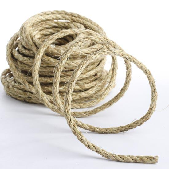 Natural Sisal Rope Wire Rope String Basic Craft