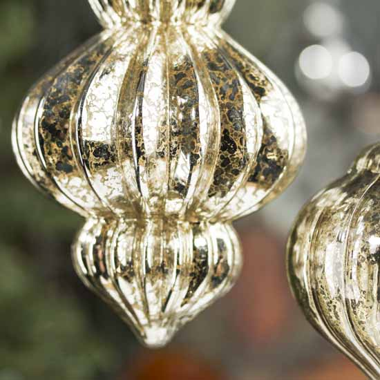 Mercury Glass Ornaments Christmas Ornaments Christmas