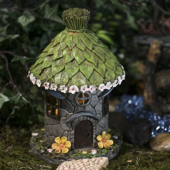 Fairy garden hut craft supplies sale sales for Garden hut sale