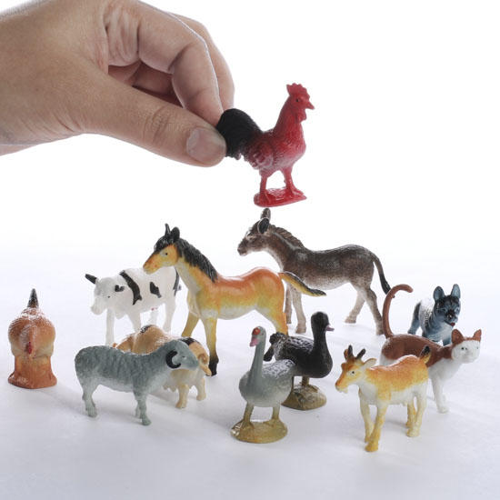 Miniature Farm Animals Animal Miniatures Dollhouse