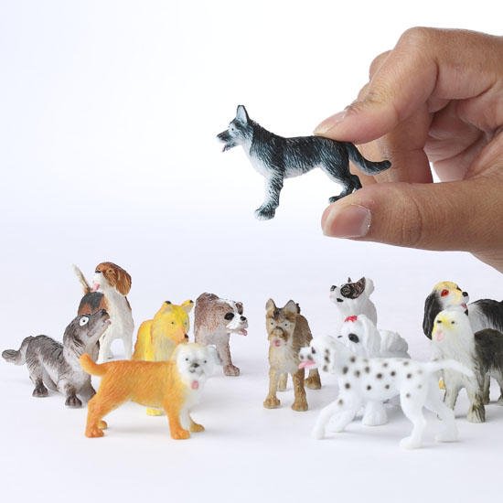 Miniature Plastic Dogs What S New Dollhouse Miniatures