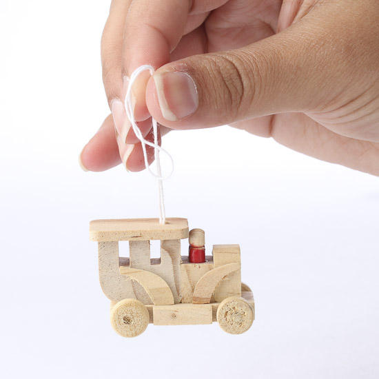 Miniature wood old fashioned truck wood miniatures for Wood craft supply stores