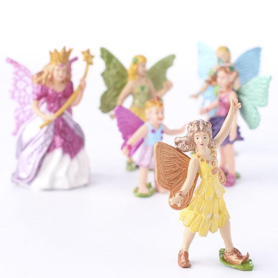 Miniature Fairy Figurines   Fairy Garden Miniatures   Dollhouse Miniatures    Doll Making Supplies   Craft Supplies