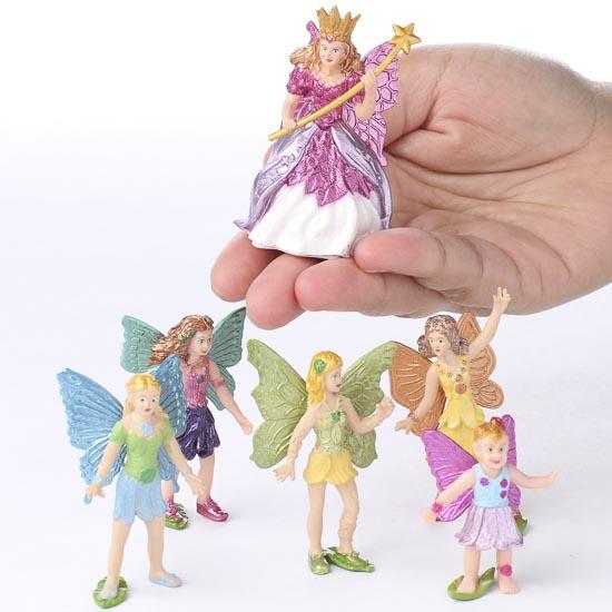 Miniature fairy figurines fairy garden miniatures Small garden fairies