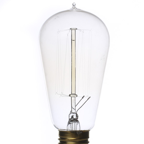 Vintage 60 Watt Edison Style Light Bulb Lighting Home Decor