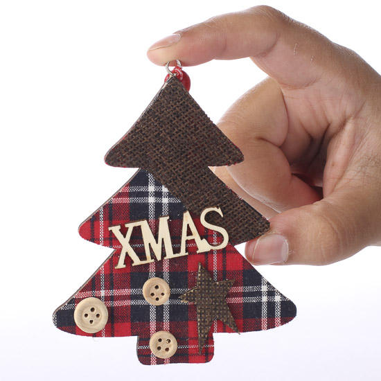 Wooden christmas tree cutout ornament christmas for Wooden christmas cutouts