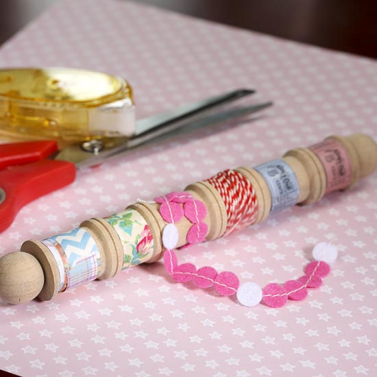 Unique wood spool of ribbons and trims scrapbooking for Craft ribbons and trims