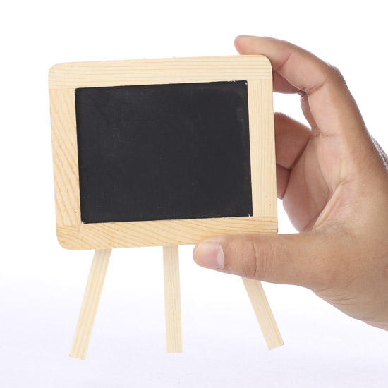 mini chalkboard with easel mini chalkboards basic craft supplies craft supplies. Black Bedroom Furniture Sets. Home Design Ideas