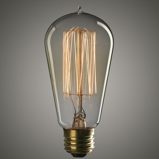 4.75u0026quot; Vintage 40 Watt Edison Style Light Bulb - Lighting - Home Decor