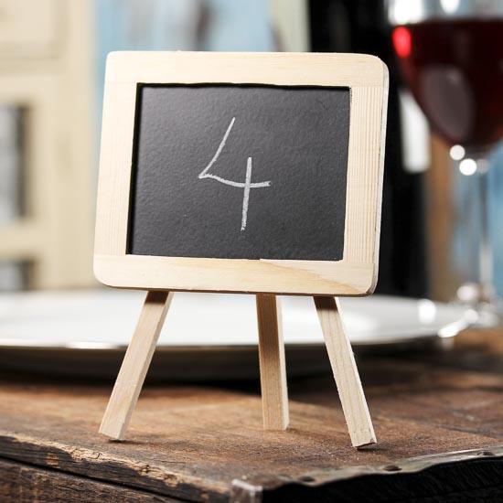 Mini Chalkboard With Easel Mini Chalkboards Basic