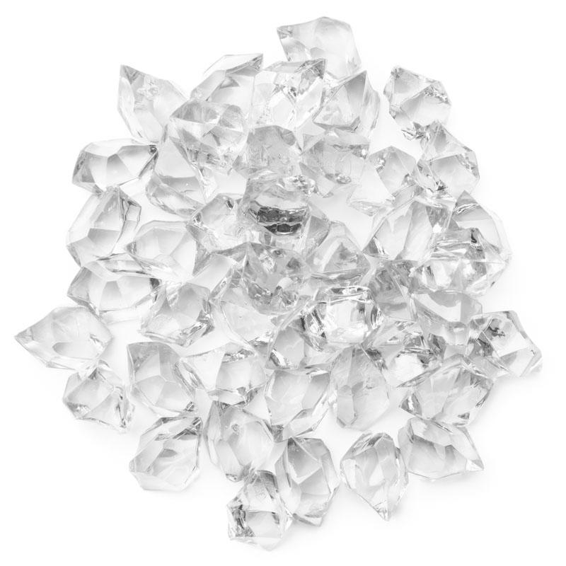 Clear Acrylic Ice Rock Gems Vase Fillers Table Scatters Floral