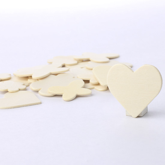 Unfinished wooden garden shapes wood cutouts for Craft supplies wooden shapes