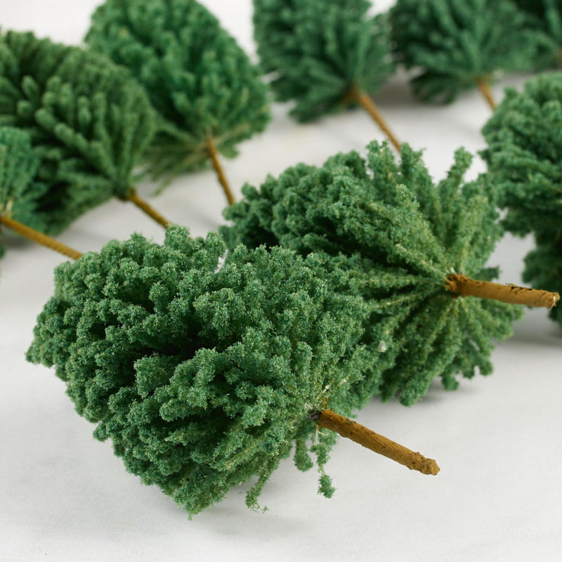 Miniature Artificial Trees Fairy Garden Miniatures Dollhouse