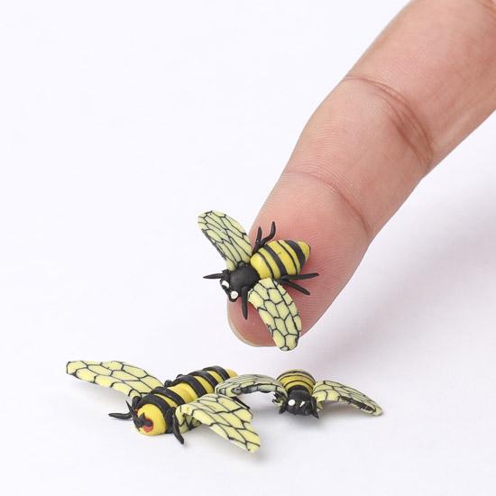 Miniature Honey Bees Fairy Garden Miniatures Dollhouse