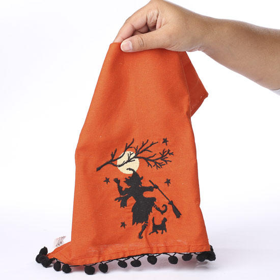 Witch In The Moonlight Decorative Towel Table Decor