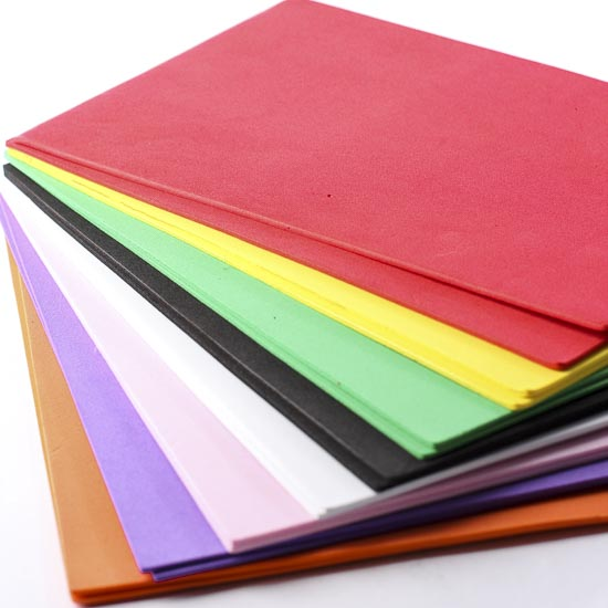 Assorted craft foam sheets craft foam kids crafts for Craft ideas using foam sheets