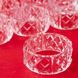 Clear Acrylic Napkin Rings