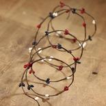 Miniature Red, White, and Blue Pip Berry Garland