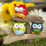 Quirky Polyresin Owl