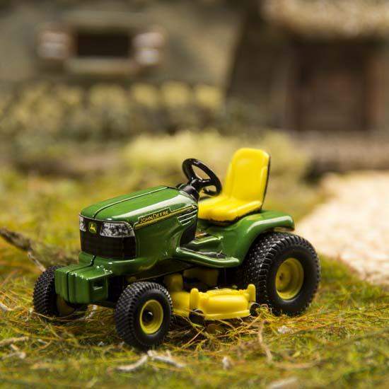 John Deere Matchbox Tractor : Miniature john deere lawn tractor fairy garden