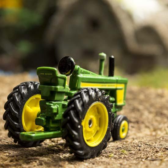 Miniature Vintage John Deere 720 Tractor Fairy Garden