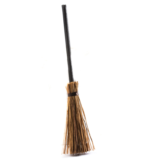 Miniature broom straw brooms fall and halloween for Straw brooms for crafts