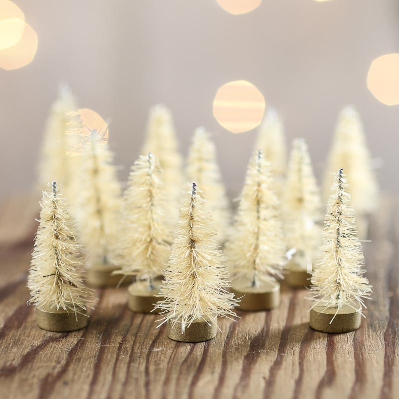 Miniature Christmas Trees For Crafts