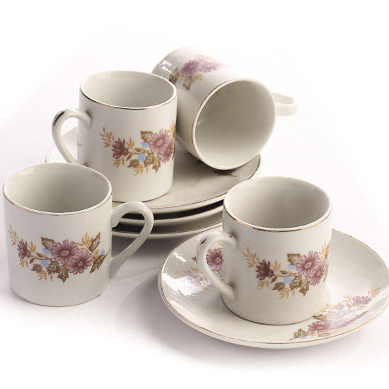 Antique Espresso Cups And Saucers Kids Kitchen And