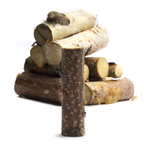 Small Precut Birch Wood Logs Vase And Bowl Fillers
