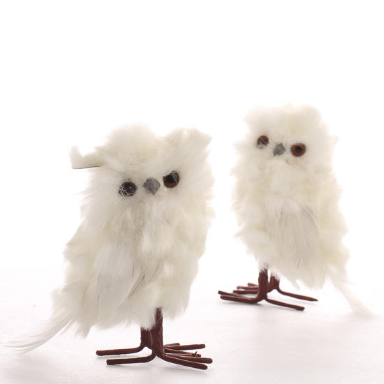 Small White Colored Bathrooms To Get A Huge Functions: Small White Fluffy Owl Friends