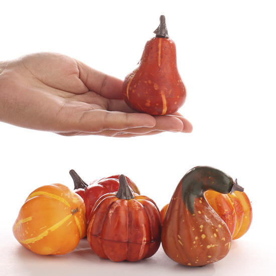 Small Artificial Pumpkins And Gourds Fall Florals Fall