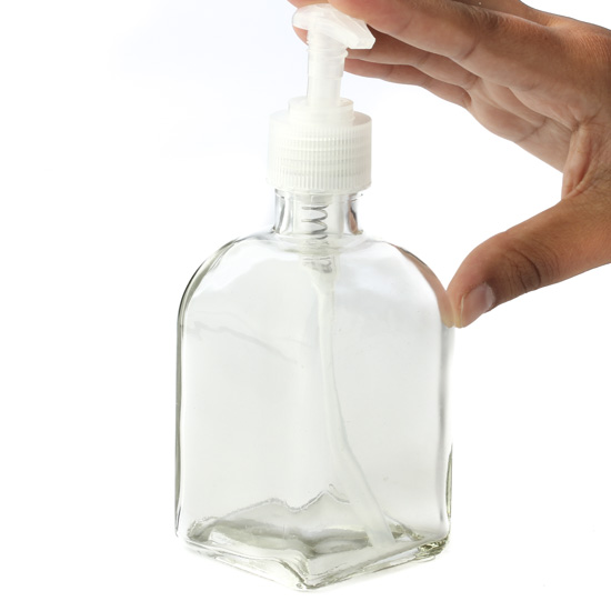 Clear Roma Bottle Dispenser Soap And Lotion Dispensers