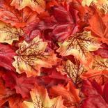 Mini Artificial Maple Leaves