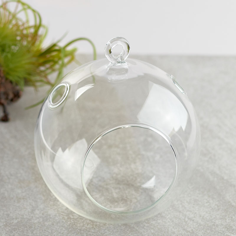 Hanging Glass Terrarium Ornaments - Hanging Glass Terrarium Ornaments - Christmas Ornaments