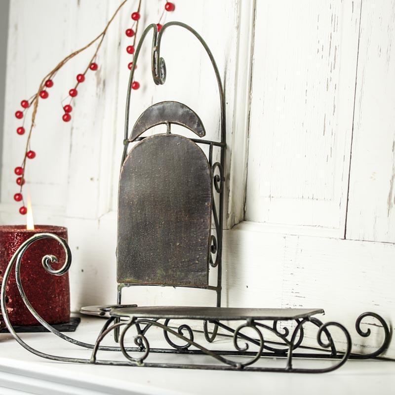Decorative Sleighs For Christmas