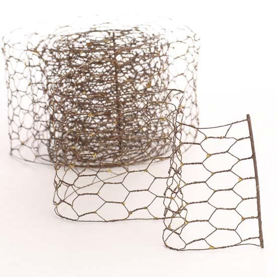 Chicken Wire Ribbon Crafts