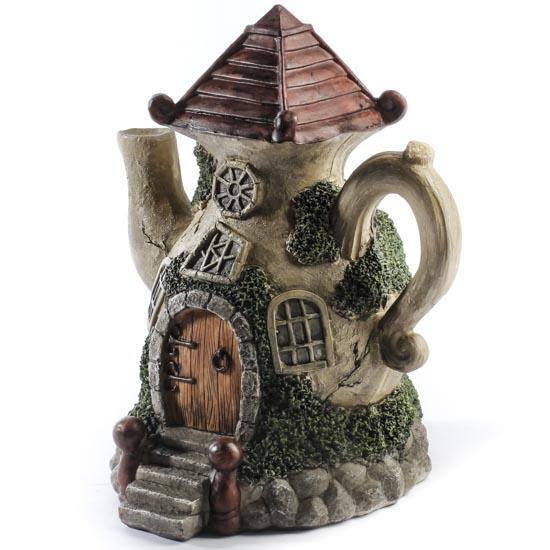 Fairy Garden Teapot House Fairy Garden Miniatures