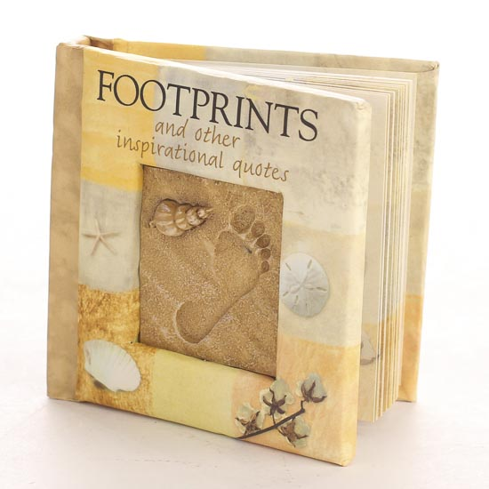 footprints and other inspirational quotes booklet