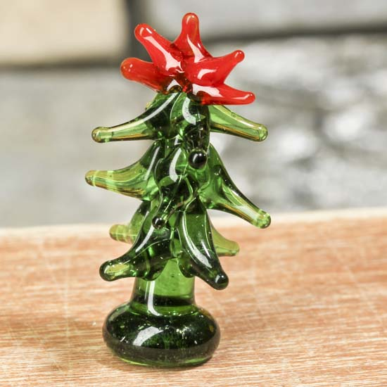 Miniature glass christmas tree what s new holiday crafts