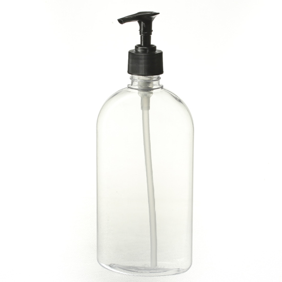 Clear Plastic Dispenser Bottle Soap And Lotion