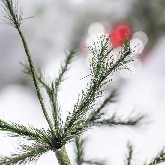 Primitive Feather Christmas Tree
