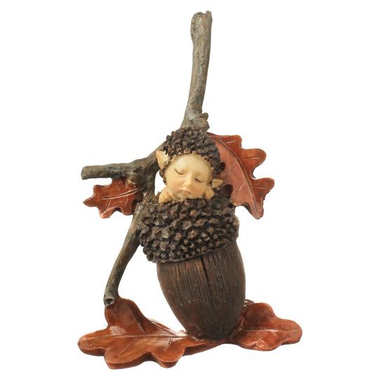 Baby Acorn Fairy Fairy Garden Supplies Dollhouse