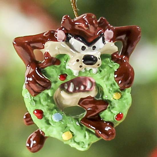 Compare Size - Miniature Looney Tune Christmas Ornaments - Christmas Ornaments