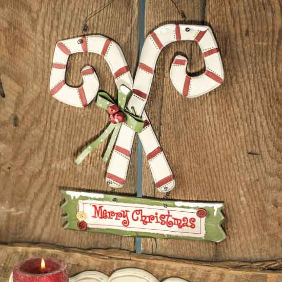 Sign christmas ornaments christmas and winter holiday crafts