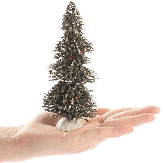 White Frosted Christmas Tree