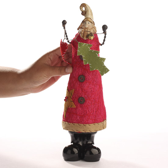 Tall primitive santa figurine top sellers
