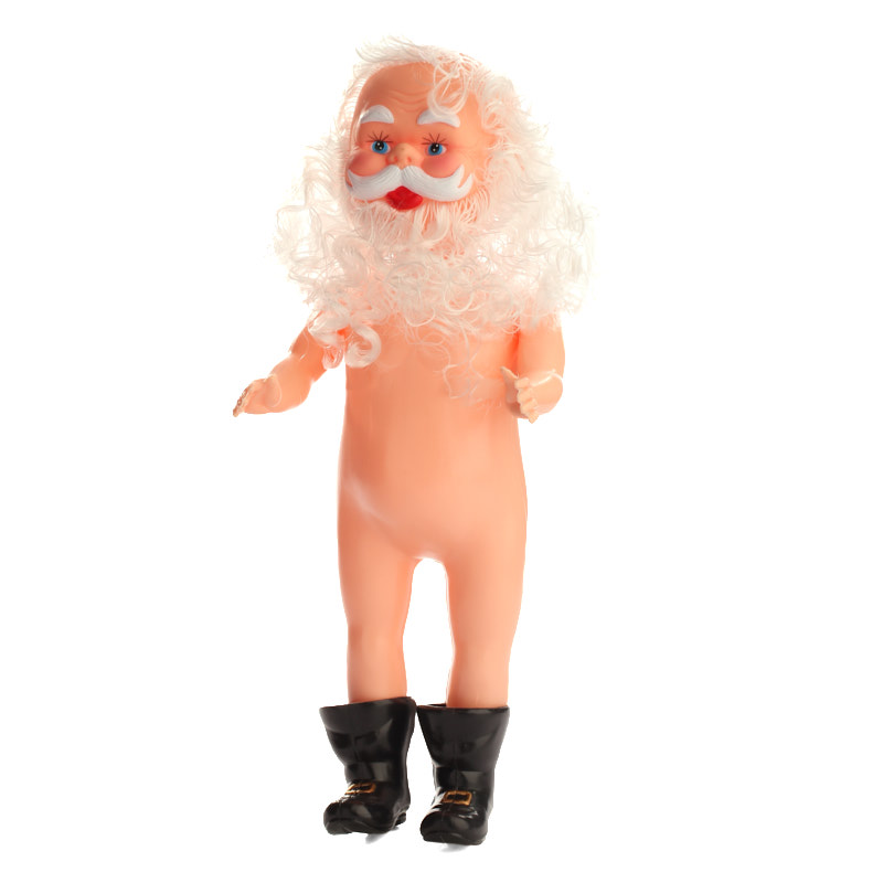 Vinyl Santa Claus Doll Plastic And Vinyl Dolls Doll