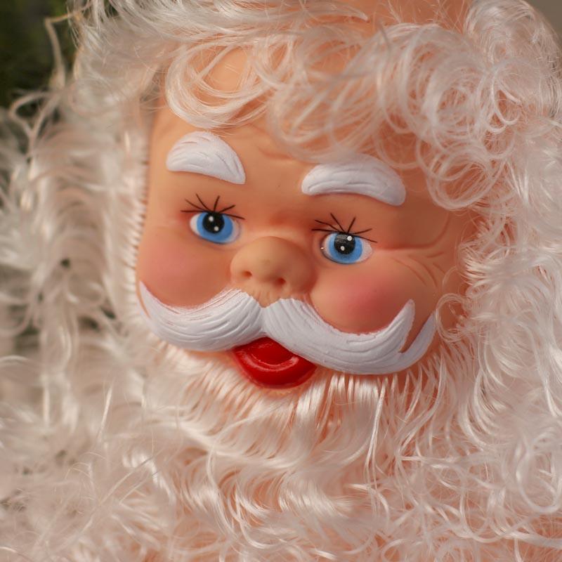 Vinyl Santa Claus Doll Plastic And Vinyl Dolls Doll